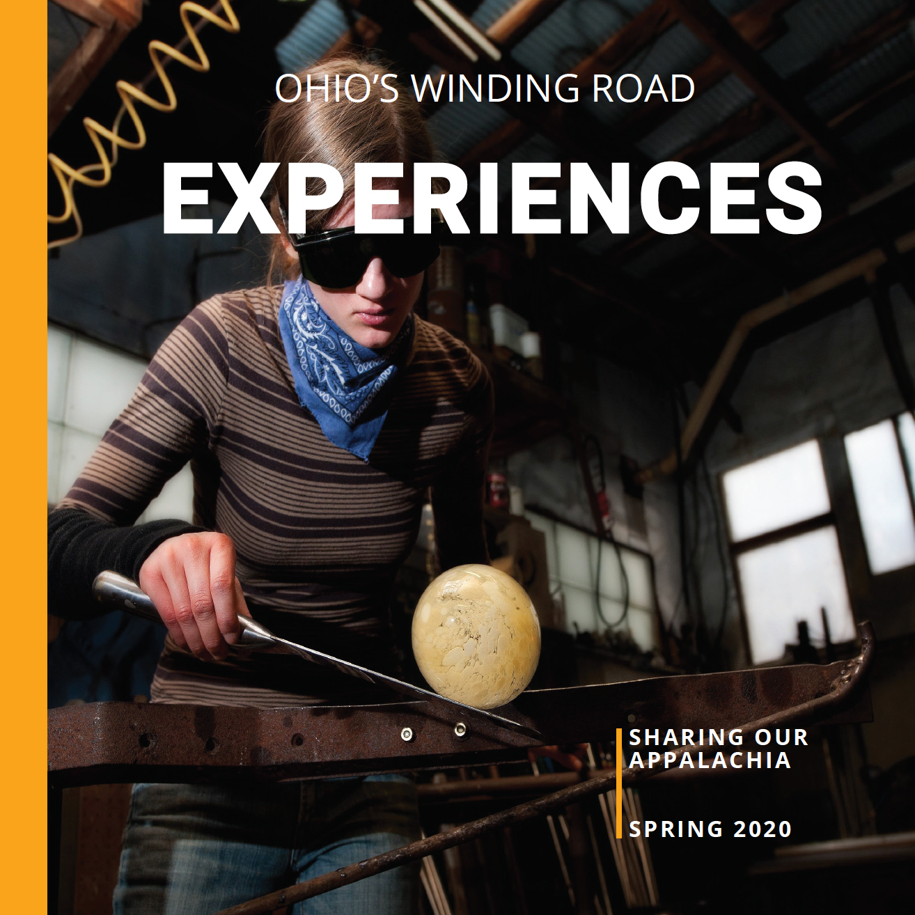 Ohio's Winding Road: Experiences Books